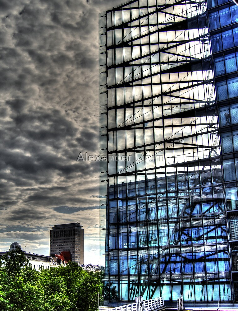 steel and glass, HDR photo by Alexander Drum