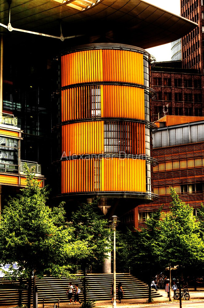 modern architecture of berlin by Alexander Drum