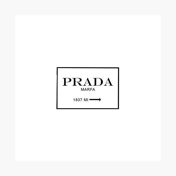 Prada sign  Photographic Print