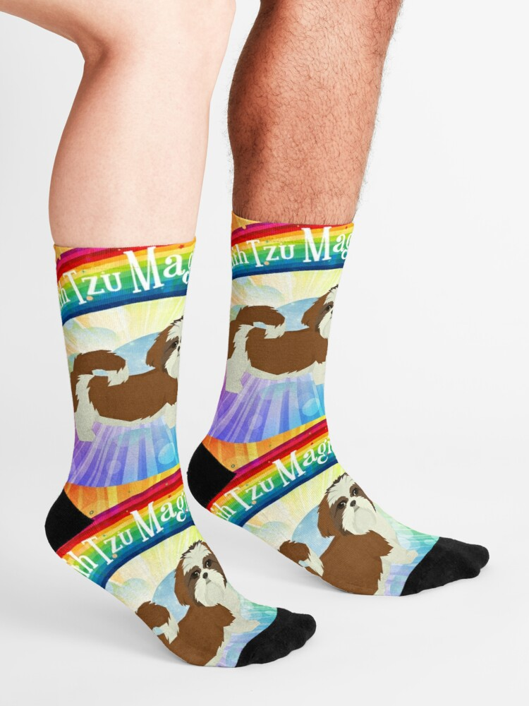 Alternate view of Shih Tzu Magic Socks
