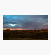 Back lit Ranges Photographic Print
