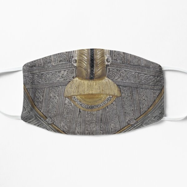 Sutton Hoo Mask - Þæt wæs god grīma! Flat Mask