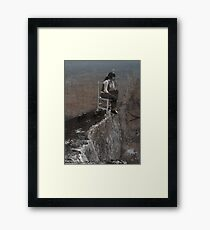 precipice Framed Print