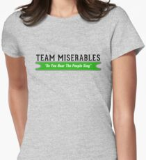 Team Miserables Women's Fitted T-Shirt