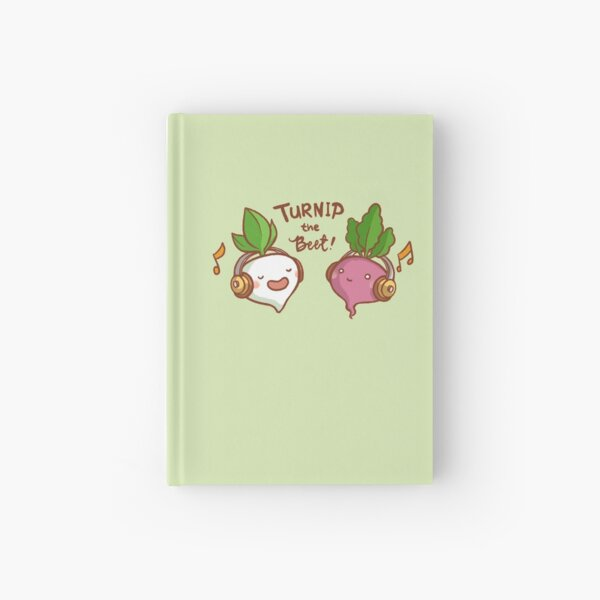Turnip the Beet Hardcover Journal