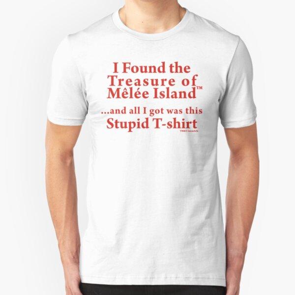 Monkey Island: Treasure of Melee Island Slim Fit T-Shirt