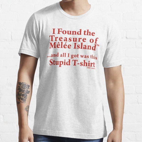 Île aux singes: trésor de l'île de mêlée T-shirt essentiel