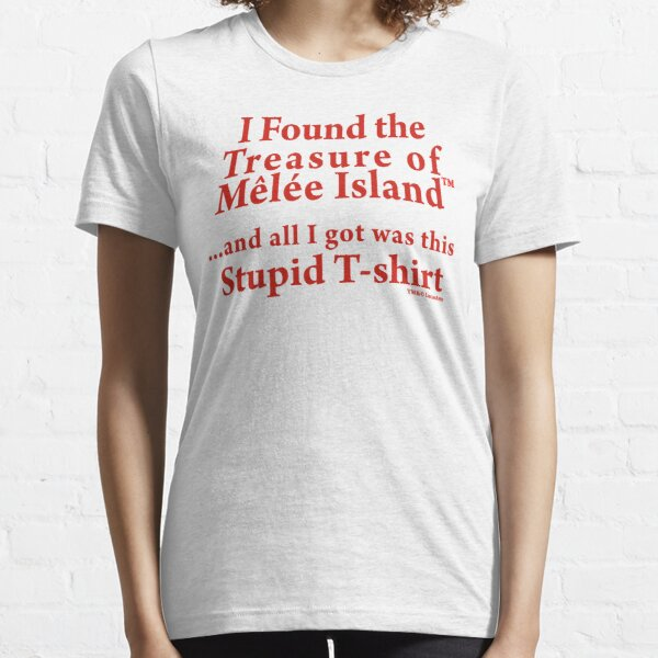 Monkey Island: Treasure of Melee Island Essential T-Shirt