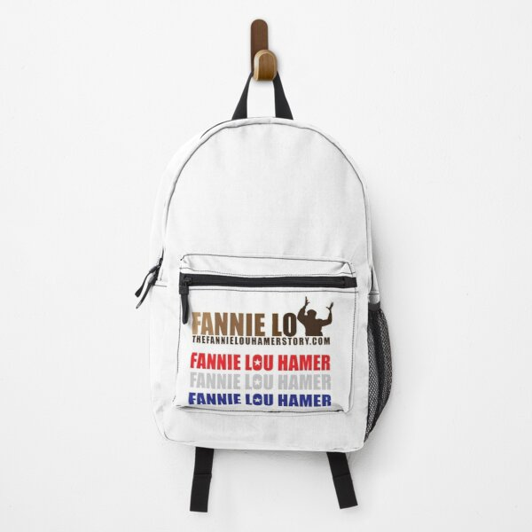 The Fannie Lou Hamer Story, Red, White & Blue Backpack