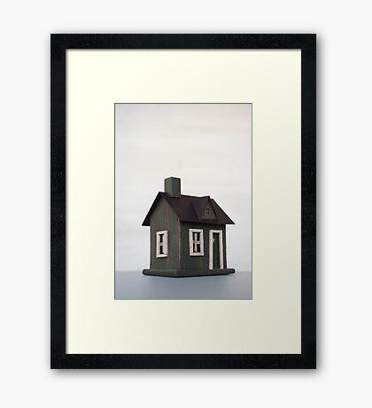 Woodman's Cabin 2 Framed Print