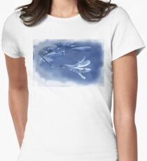 Blue Ice  (Image and Poem) T-Shirt