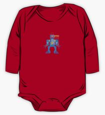 Vintage Toy Robot Design One Piece - Long Sleeve