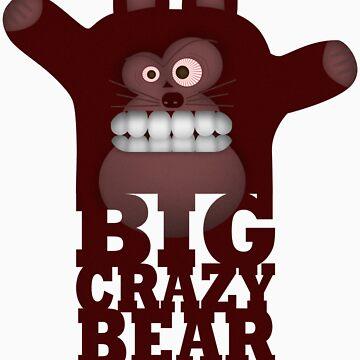BIG CRAZY BEAR by hdzz