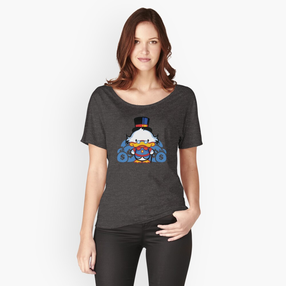 Hello Scroogie Women's Relaxed Fit T-Shirt Front