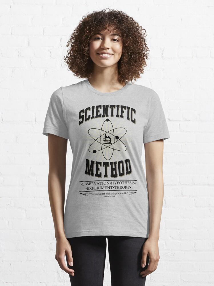 Alternate view of Scientific Method Essential T-Shirt