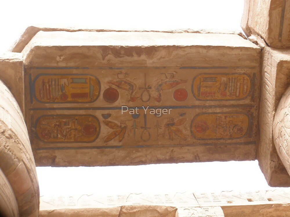 Painted 3,000 Years Ago and Still Alive with Color! by Pat Yager