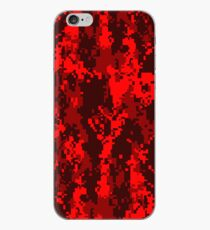 Vinilo o funda para iPhone Blood Camo