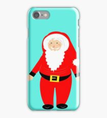 Jolly Santa Claus Happy Festive Christmas Theme iPhone Case/Skin