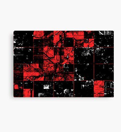 Blockwise // A New Error Canvas Print