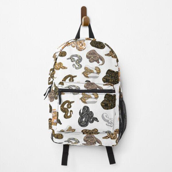 Ball Python Morph Snake Pattern Backpack