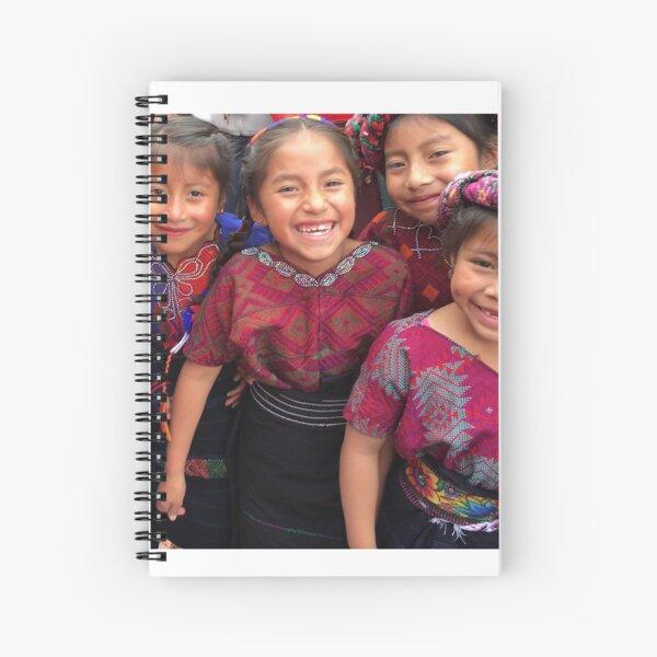 Local Hope/Xela AID Little Ladies Spiral Notebook