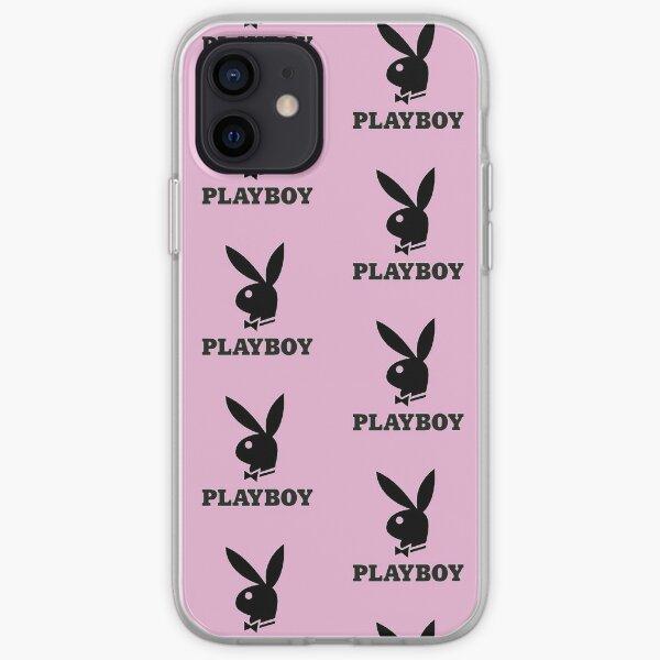 caja del teléfono playboy Funda blanda para iPhone