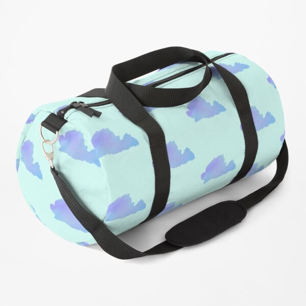 Blue Clouds Duffle Bag