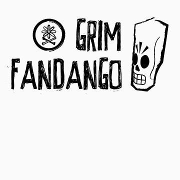 Grim Fandango (Black) by gurumel