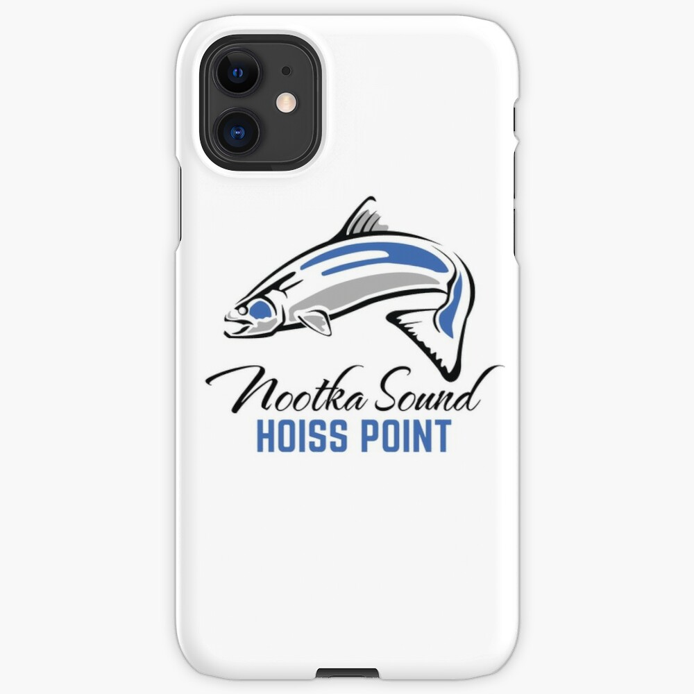 Hoiss Point - Nootka Sound - Salmon Logo iPhone Case & Cover