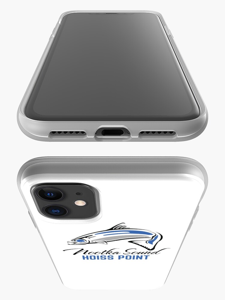Alternate view of Hoiss Point - Nootka Sound - Salmon Logo iPhone Case & Cover