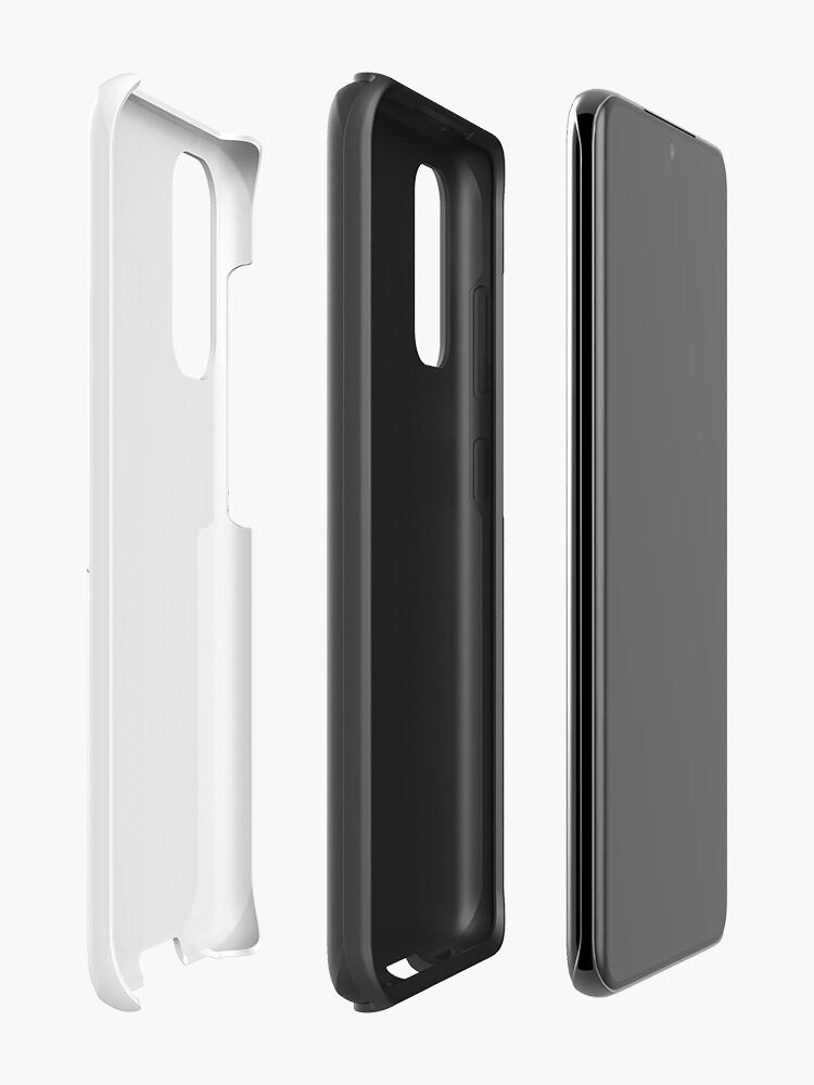 Alternate view of Hoiss Point - Nootka Sound - Salmon Logo Case & Skin for Samsung Galaxy