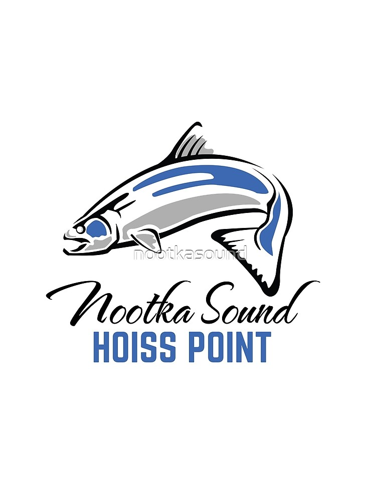 Hoiss Point - Nootka Sound - Salmon Logo by nootkasound