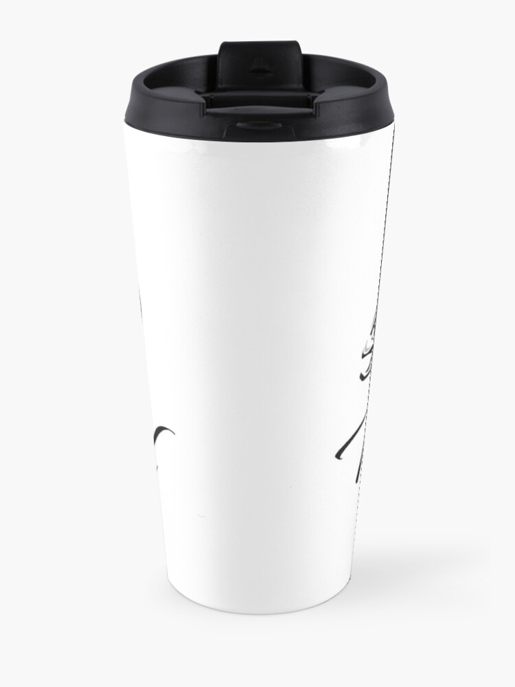 Alternate view of Hoiss Point - Nootka Sound - Salmon Logo Travel Mug