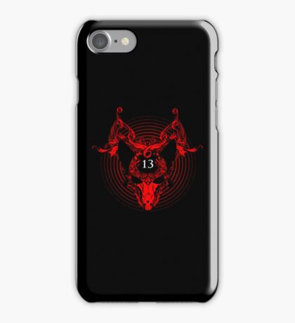 Unlucky Number 13 iPhone Case/Skin
