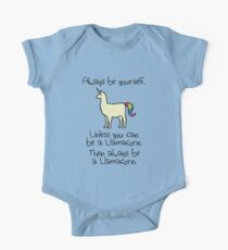 Always Be Yourself, Unless You Can Be A Llamacorn One Piece - Short Sleeve