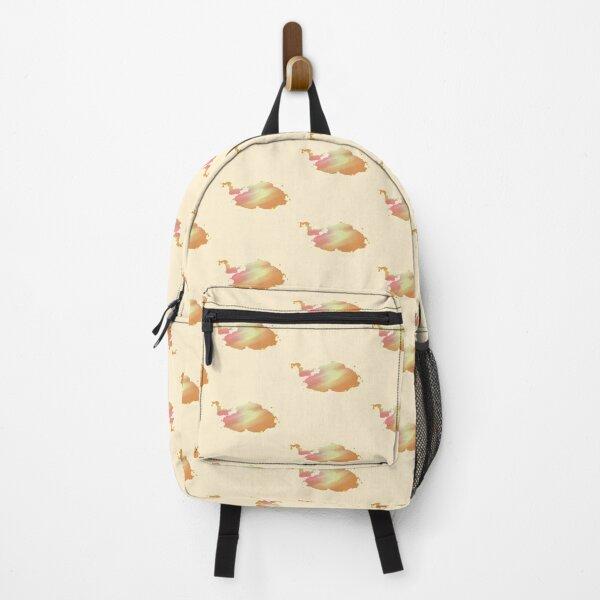 Orange Clouds Backpack