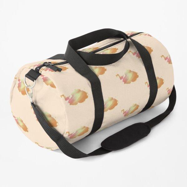 Orange Clouds Duffle Bag