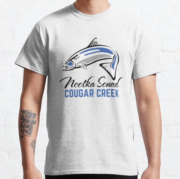 Cougar Creek - Nootka Sound - Salmon Logo Classic T-Shirt