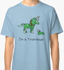 I'm A Triceratops (Unicorn + Narwhals) Classic T-Shirt