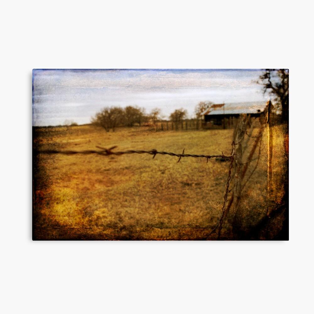 Old Farm Leinwanddruck
