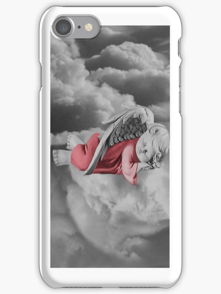 ANGEL SLEEP IPHONE CASE by ✿✿ Bonita ✿✿ ђєℓℓσ