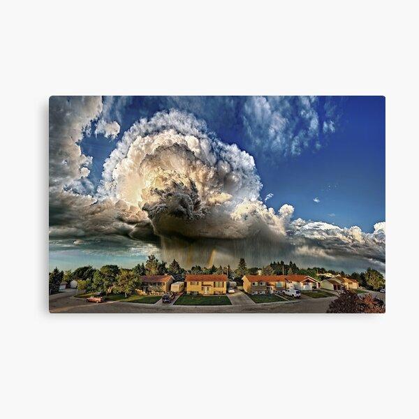 Taber Tornado - Panorama Canvas Print
