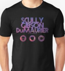 Scully, Gibson, Du Maurier Unisex T-Shirt