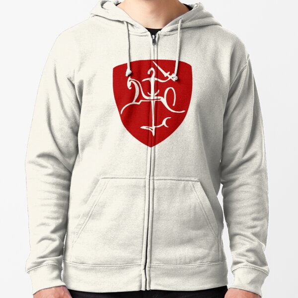 Lithuania Coat of Arms Zipped Hoodie
