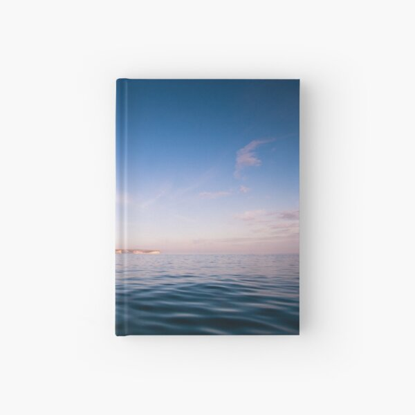 The Seven Sisters, East Sussex UK Hardcover Journal