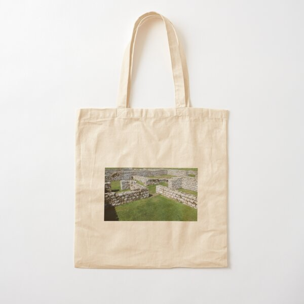 Merch #85 -- Rocks And Bricks - Shot 7 (Hadrian's Wall) Cotton Tote Bag