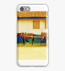 Retro Beer Wagon iPhone Case/Skin