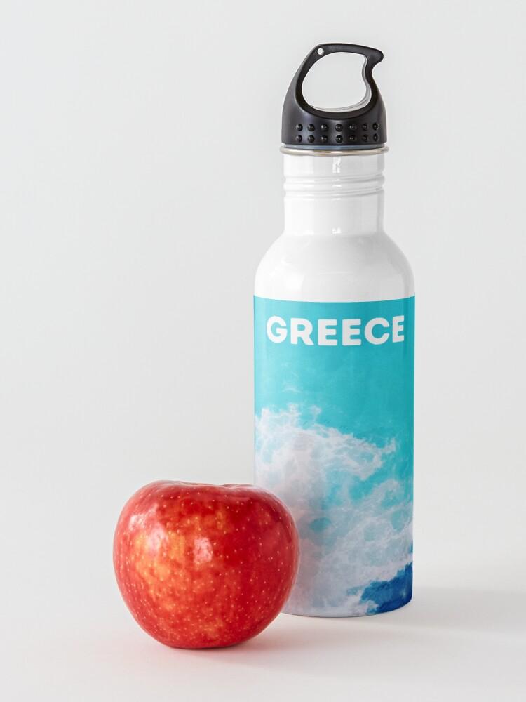 Alternate view of Summer in Greece Water Bottle