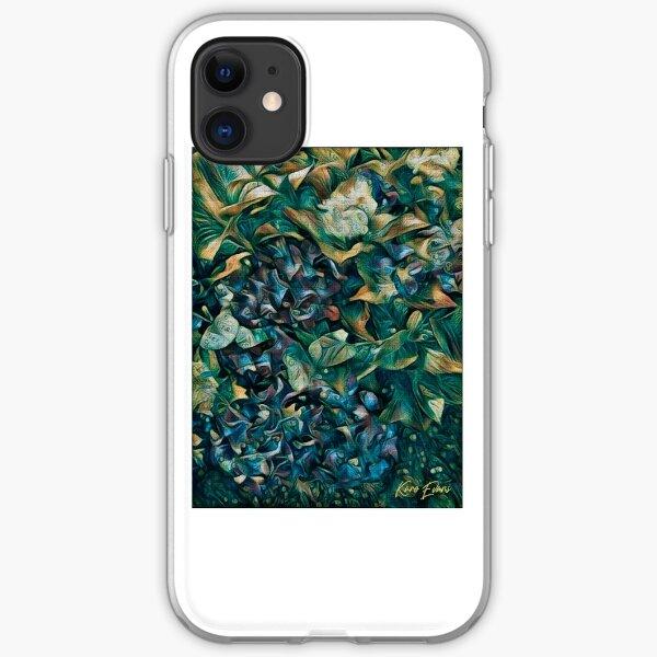 hortensias iPhone Soft Case