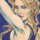 Violet Looker by JohnnyGolden